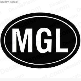 MGL country sign listed in useful signs decals.