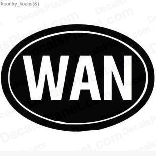 WAN country sign listed in useful signs decals.