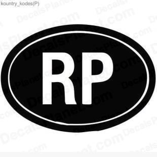 RP country sign listed in useful signs decals.
