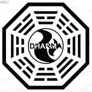 Lost Dharma logo 2 listed in other decals.