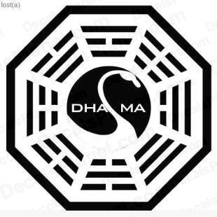 Lost Dharma logo 3 listed in other decals.