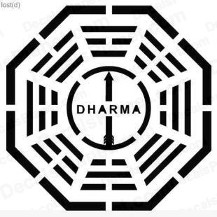 Lost Dharma logo 5 listed in other decals.