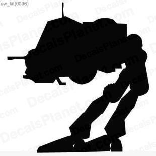 Star Wars AT-AP listed in cartoons decals.