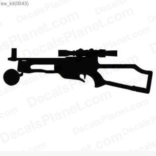 Star Wars Blaster 7 listed in cartoons decals.