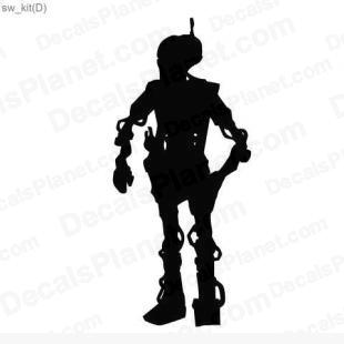 Star Wars Droid 4 listed in cartoons decals.