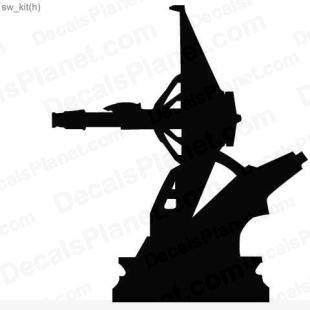 Star Wars gun turret 2 listed in cartoons decals.