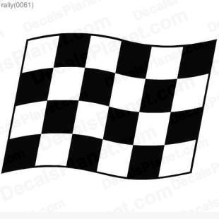 Racing flag 2 listed in useful signs decals.