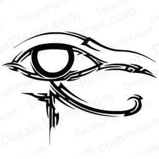 Tribal eye symbol listed in other decals.
