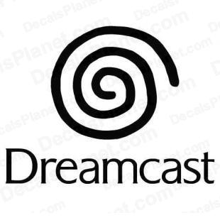 Dreamcast full logo listed in video games decals.