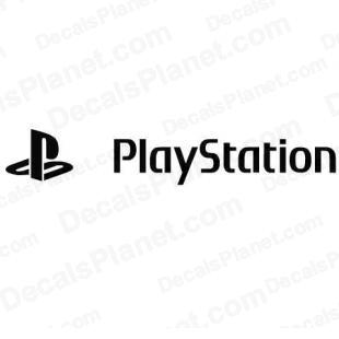 Playstation full logo listed in video games decals.