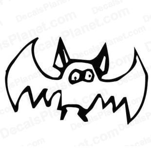 Custom Bat listed in cartoons decals.
