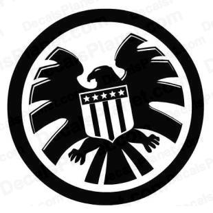 Marvel S.H.I.E.L.D. 2 (SHIELD) listed in cartoons decals.