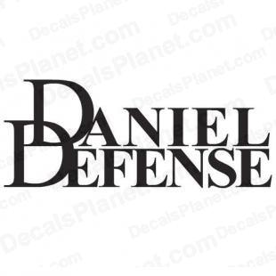 Daniel Defense logo listed in firearm companies decals.