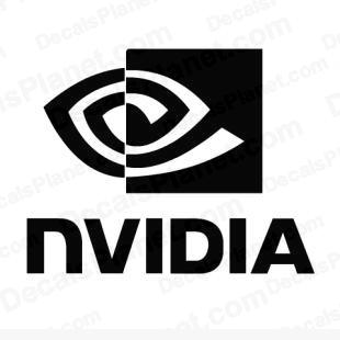 Nvidia logo listed in computer decals.