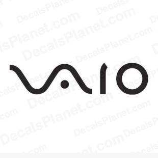 Vaio logo listed in computer decals.