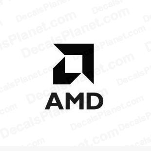 AMD logo 1 listed in computer decals.
