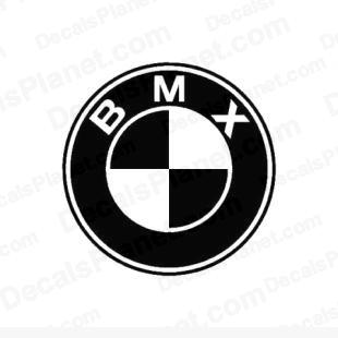 BMX (instead of BMW) listed in funny decals.