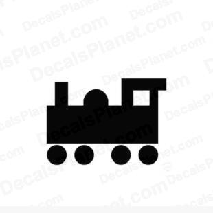 Toy train listed in other decals.