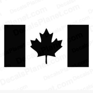 Canada Flag Canadian Decal Vinyl Decal Sticker Wall Decal - Vinyl decal stickers canada