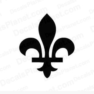 Fleur de lys French Quebec listed in other decals.
