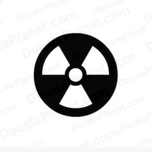 Nuclear sign listed in other decals.