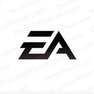 EA (electronic arts) logo listed in video games decals.