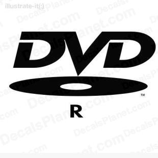 DVD-R logo listed in computer decals.