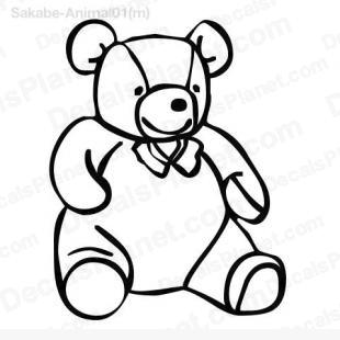 Teddy bear 2 listed in animals decals.