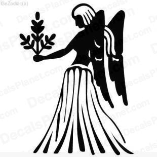 Virgo listed in zodiac decals.