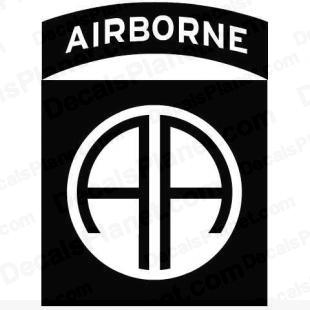 82nd Airborne Division United States logo listed in firearm companies decals.