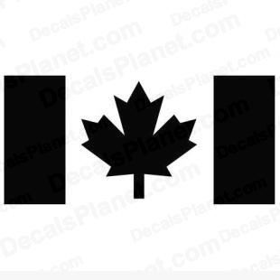 Canada flag 2 listed in other decals.