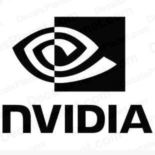 Nvidia 2 (sharper logo) listed in computer decals.