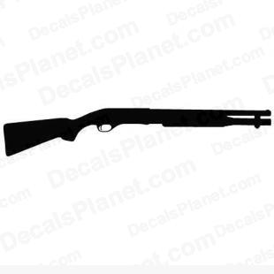 Remington 870 listed in firearm companies decals.