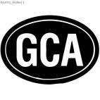 GCA country sign