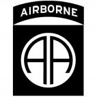 82nd Airborne Division United States logo