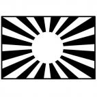 Japanese Imperial Army Flag (2nd variation)